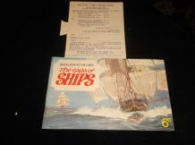 VINTAGE SET BROOKE BOND PICTURE CARD ALBUM SAGA OF SHIPS + EXTRAS